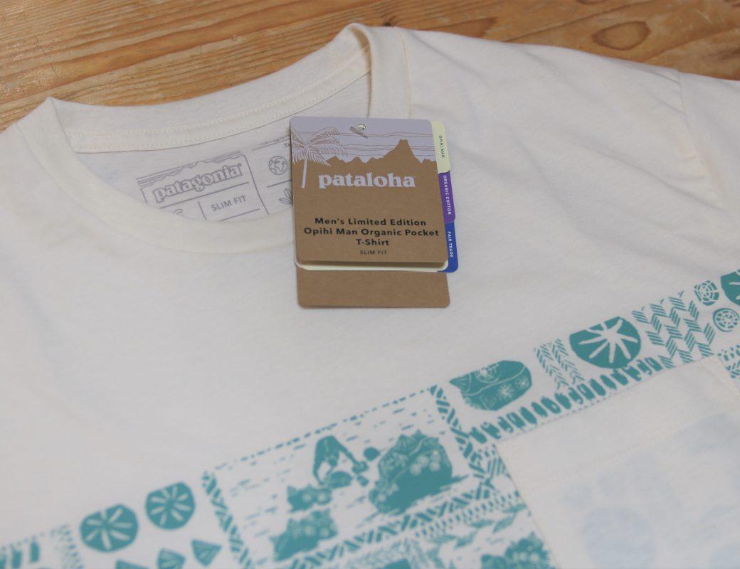 patagonia  Limited Edition Opihi Man Organic Pocket T-Shirt