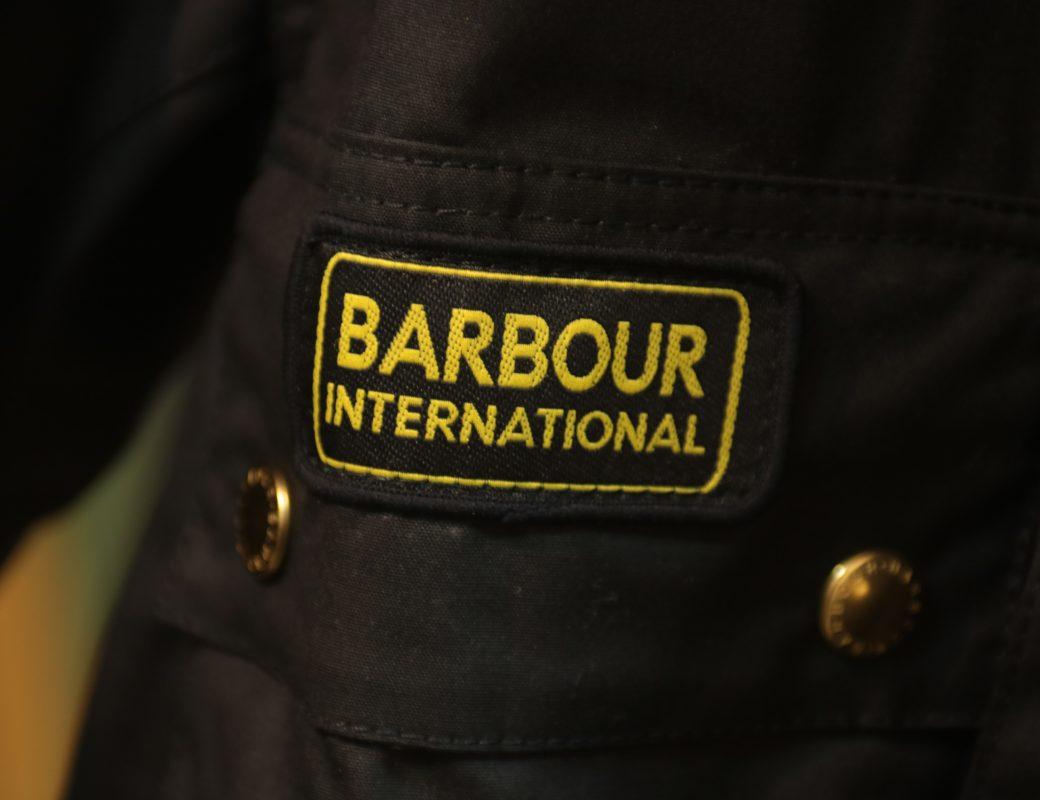 Barbour International Original Waxed Cotton Jacket