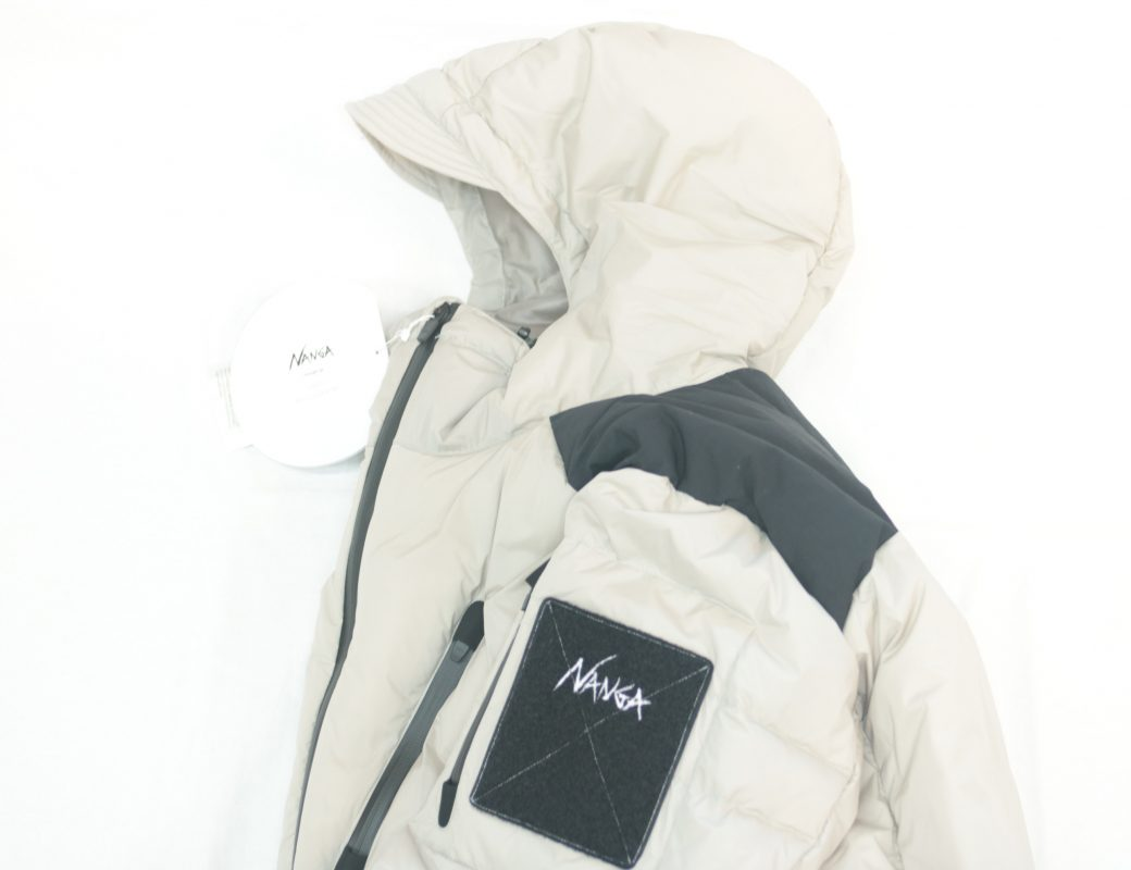MANUAL ALPHABET × NANGA  M/A CPU DOWN JACKET Ⅱ